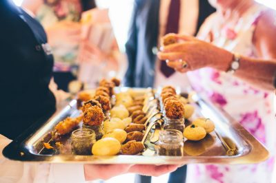 Wedding catering (canapés) - Nova The Outsiders, Wirral