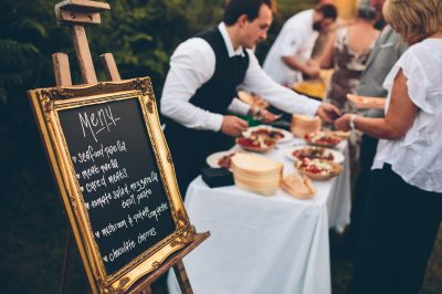 Marquee Wedding Buffet Catering - Nova The Outsiders, Wirral