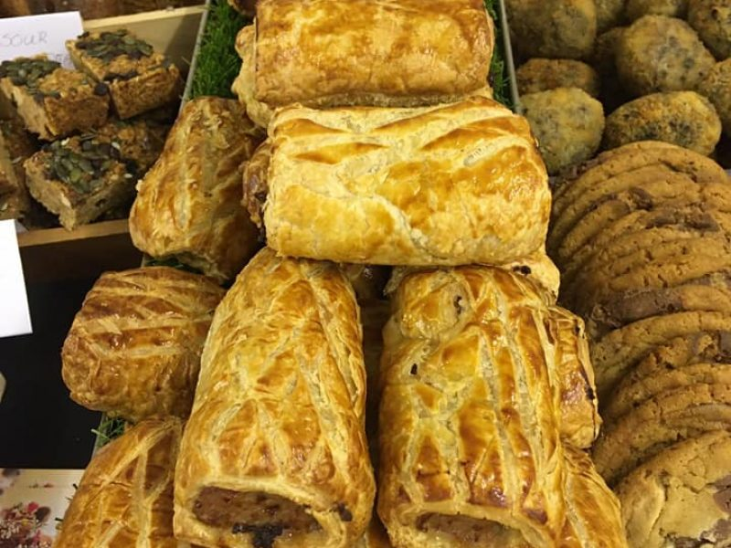 Home made sausage rolls & pastries - Business lunches delivered, Wirral