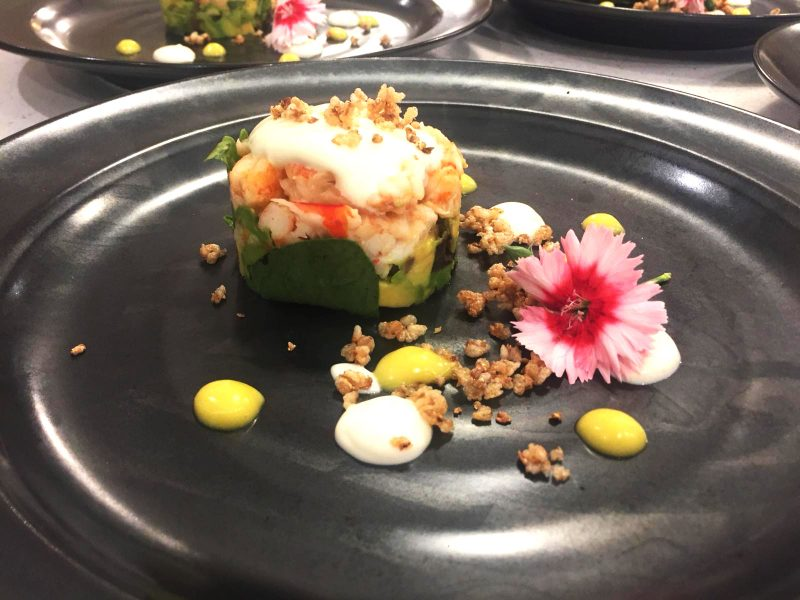 Private chef, Wirral - Starter - Nova The Outsiders